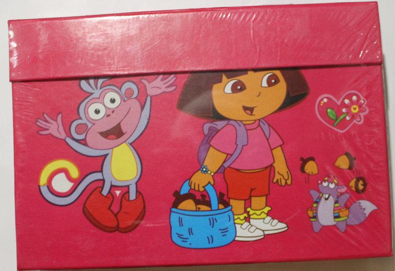 """Набор для детского творчества """"Dora"""" (68 предметов) чемодан"""