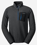 Кофта Eddie Bauer Mens Cloud Layer Pro Fleece Pullover DK SMOKE XXXL Серая (0677SM-XXXL)
