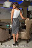 Ультрамодная Трикотажная юбка – «карандаш» 44-54р, фото 2