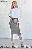 Ультрамодная Трикотажная юбка – «карандаш» 44-54р, фото 3