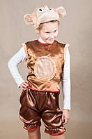 Детский карнавальный костюм ОБЕЗЬЯНКА для мальчика 5,6,7,8 лет новогодний маскарадный костюм ОБЕЗЬЯНЫ