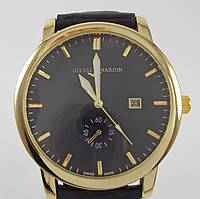 Часы наручные Ulysse Nardin 7141 золото с черным