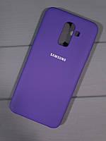 Чехол-накладка Original Soft Case Samsung J8 (2018) Ultra Violet