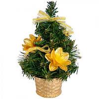 Елка искусственная в вазоне 20 см новогодняя