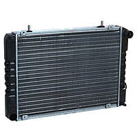 Радиатор охлаждения 3302, 2705, 2217, Газель крепление штырь 3-рядный алюминиевый AURORA