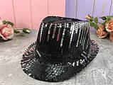 Шляпа диско шляпа Твист с пайетками  ЦВЕТА РАЗНЫЕ, фото 5