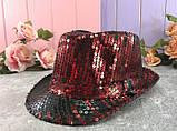 Шляпа диско шляпа Твист с пайетками  ЦВЕТА РАЗНЫЕ, фото 3