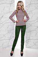Брюки Ария хаки ТМ Jadone Fashion 42-48 размеры