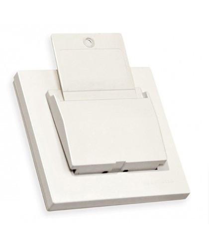 """Выключатель карточный с задержкой отключения 4А,""""MUTLUSAN"""", Белый """"RITA"""""""