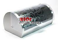 Хлебница из нержавейки с пластиковой крышкой 36х22х16,5см Maestro MR-1671S