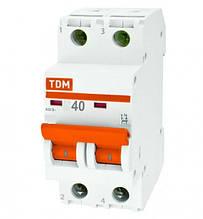 Выключатель нагрузки ВН-32 2Р 40А (TDM)