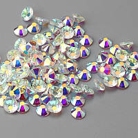 Клейові стрази Crystal AB SS30 (6.3-6.5 мм). Ціна за 1 шт