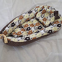 Кокон-гнездышко + ортопедическая подушка , фото 1