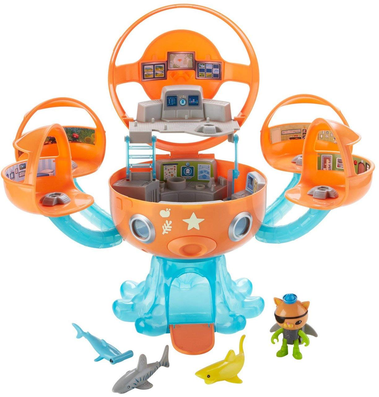 """Октонавты, Октобаза, Октопод  Подводная станция """"Приключение с акулами"""" Octonauts Octopod Shark Adventure"""