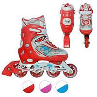Роликовые коньки profi roller
