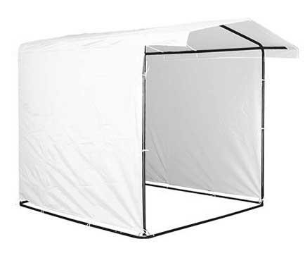 Торговая палатка на каркасе 2х2м. цвет белый