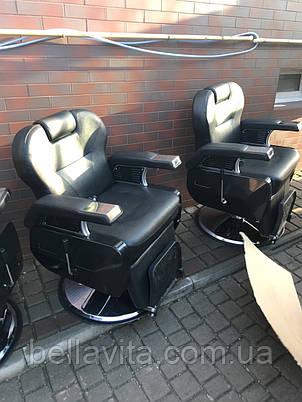 Кресло парикмахерское мужское Elit , фото 2