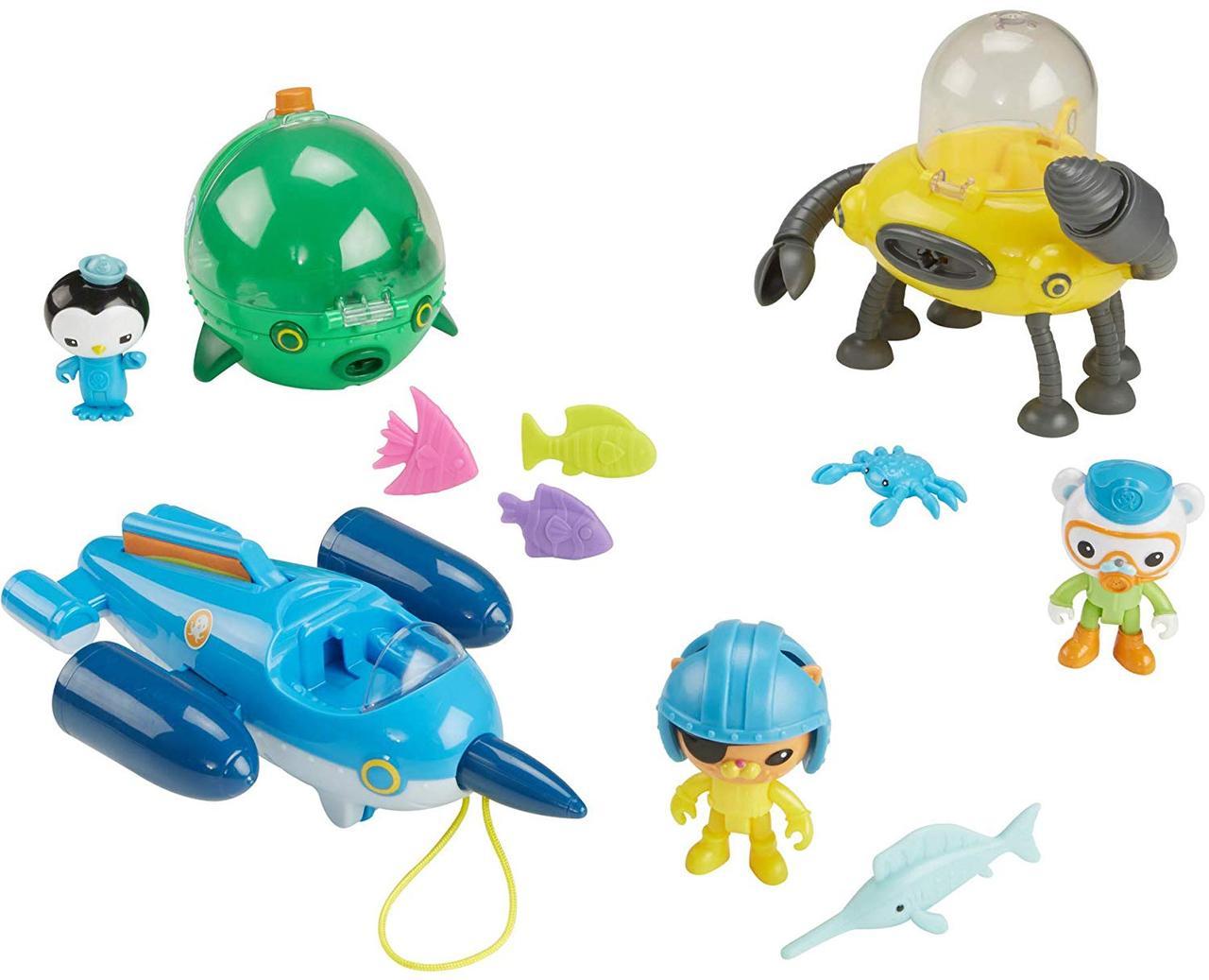 """Октонавты игровой набор """"Подводный мега флот"""" Fisher-Price Octonauts Gup Fleet Mega Pack"""