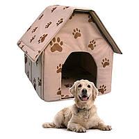 Портативный складной мягкий домик для собаки Portable Dog House Будка для Питомца , фото 1