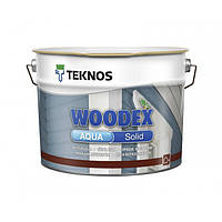Teknos Woodex Aqua Solid водоразбавляемый кроющий антисептик База 3 9 л