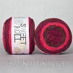 Пряжа  секционная Sweet Roll, цвет Бордовый