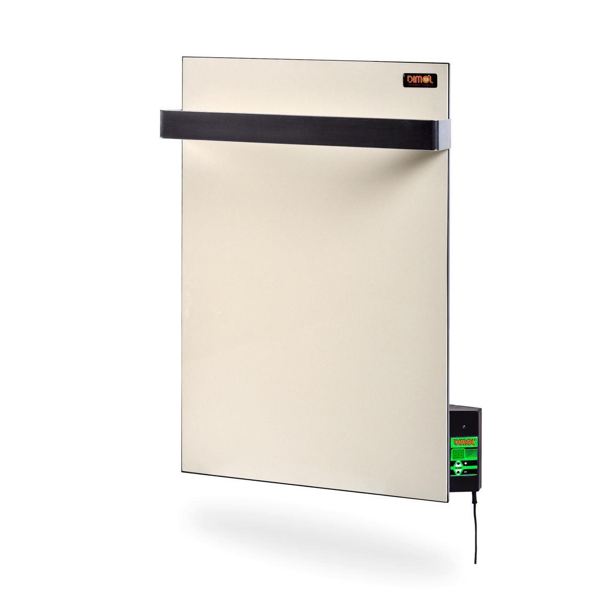 Керамический полотенцесушитель Dimol Mini 07 TR с терморегулятором кремовый