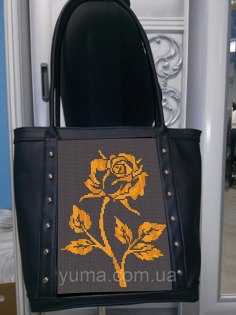 Сумка для вышивки бисером  Золотая роза СУ 6 А