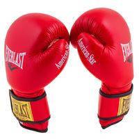 Боксерские перчатки Ever AmericanStar, кожа, 8oz, красный