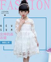 Детское нарядное платье   90, 100, 110, 120