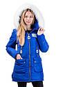 Зимняя удлиненная куртка на девочку размеры 38- 44 Новинка! Корона, фото 4
