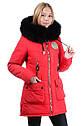 Зимняя удлиненная куртка на девочку размеры 38- 44 Новинка! Корона, фото 6