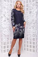 Платье свободного кроя SV 2868, фото 1