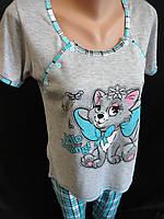 Пижамы с бриджами для кормящих мам., фото 1