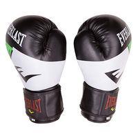 Боксерские перчатки Ever DX, 10oz,12oz, бело-зеленый