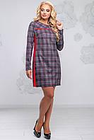 Молодежное  платье в клетку SV 2806, фото 1