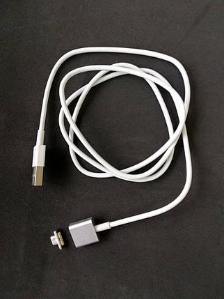 Usb-cable Micro USB Magnetic white (тех. упаковка), фото 2