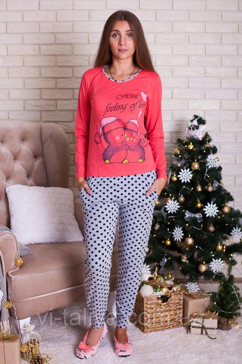 Женская пижама с пингвинами Nicoletta 96098 - Интернет-магазин vi-taliya в  Киеве 561e33344fd48