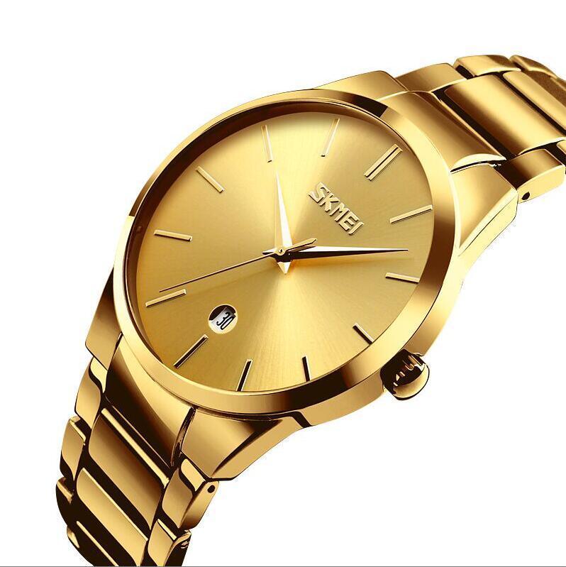 Мужские наручные часы SKMEI 9140 золото