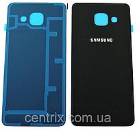 Задняя крышка для Samsung A710F Galaxy A7 (2016), черная