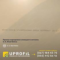 Профлист на крышу ПК-15 Салатовый, купить кровельный профнастил RAL 6002 0.50 USS Kosice (Словакия), фото 2