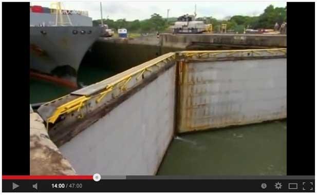 Ворота в Панамском канале