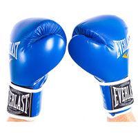 Боксерские перчатки Ever, DX-445, 6oz-12oz, синий