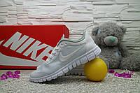 Женские Кроссовки Nike Free Run 3.0 Белые 10921