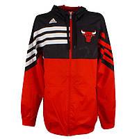 Ветровка спортивная, мужская adidas East F/Z Hood o22038 NBA адидас, НБА