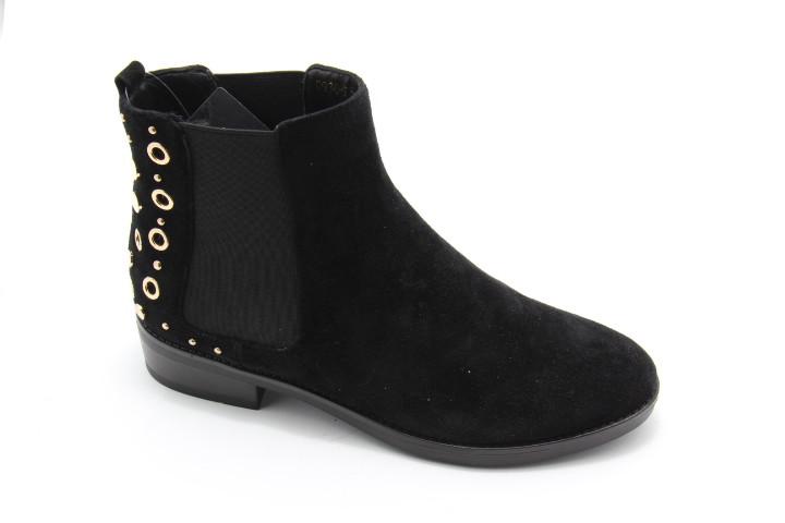 Стильные ботинки на низком каблуке B515