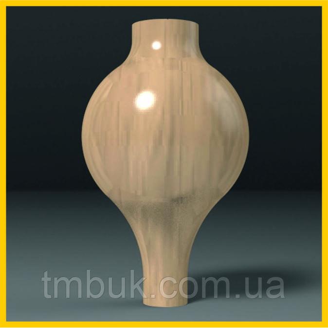 Производство ножек для мягкой и корпусной мебели. Круглая шаровидная опора точеная из дерева. 250 мм