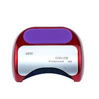 Ультрафиолетовая UV лампа 48 W с таймером для маникюра и педикюра LED+CCFL Red