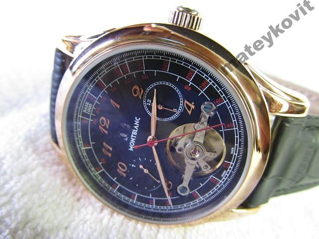 Мужские механические часы MONTBLANC TimeWalker