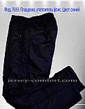 Спортивные брюки зимние  мужские утепленные, плащевка (флис), фото 2
