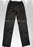 Спортивные брюки зимние  мужские утепленные, плащевка (флис), фото 6